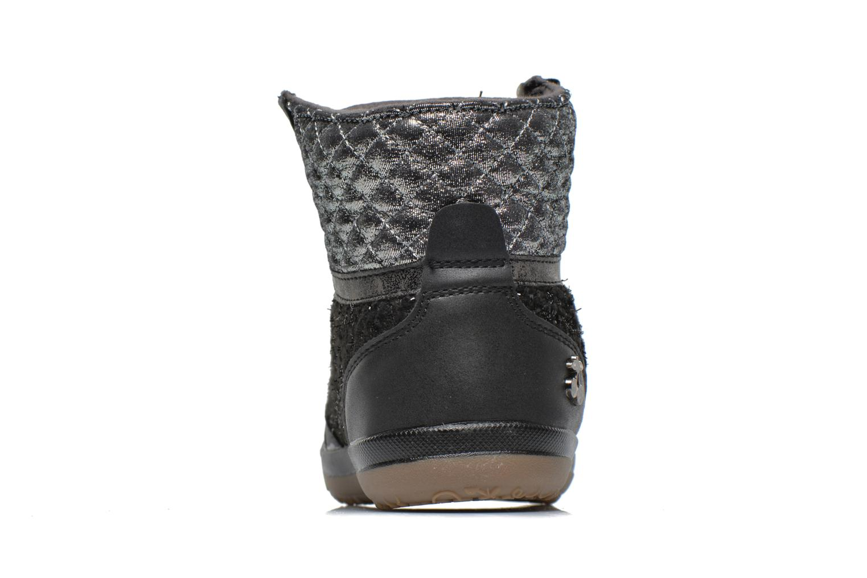 Sneakers Le temps des cerises Heritage E Zwart rechts