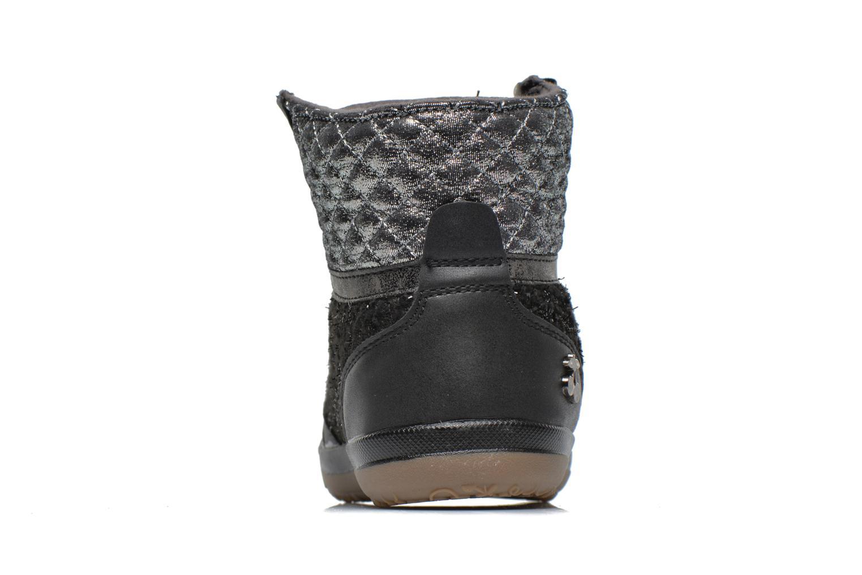 Baskets Le temps des cerises Heritage E Noir vue droite
