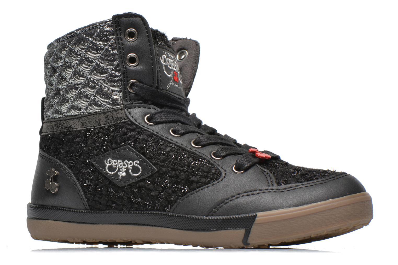 Sneakers Le temps des cerises Heritage E Zwart achterkant