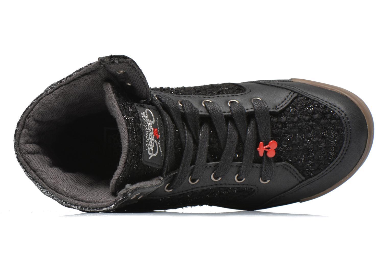 Sneakers Le temps des cerises Heritage E Zwart links