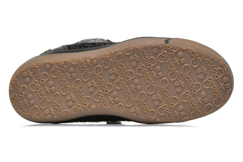 Sneakers Le temps des cerises Heritage E Zwart boven