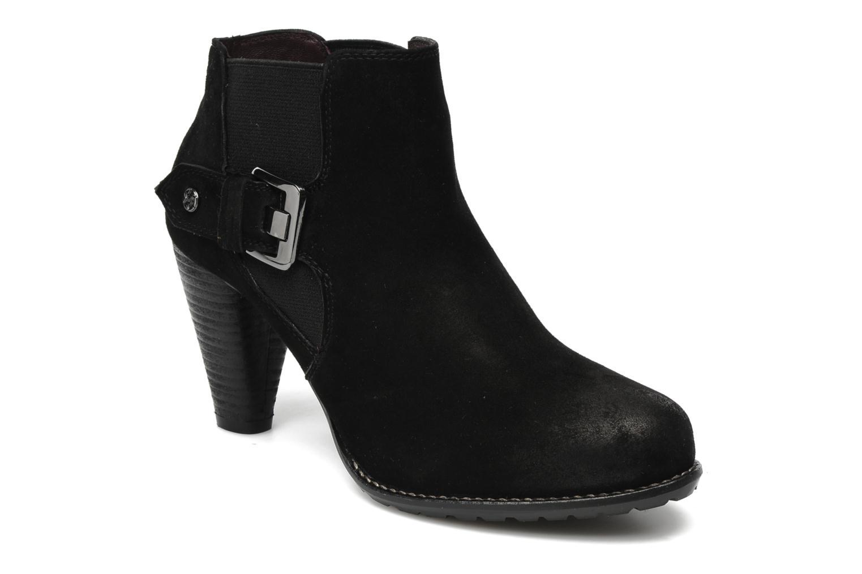 Boots en enkellaarsjes MARC Jolanda 05 Zwart detail