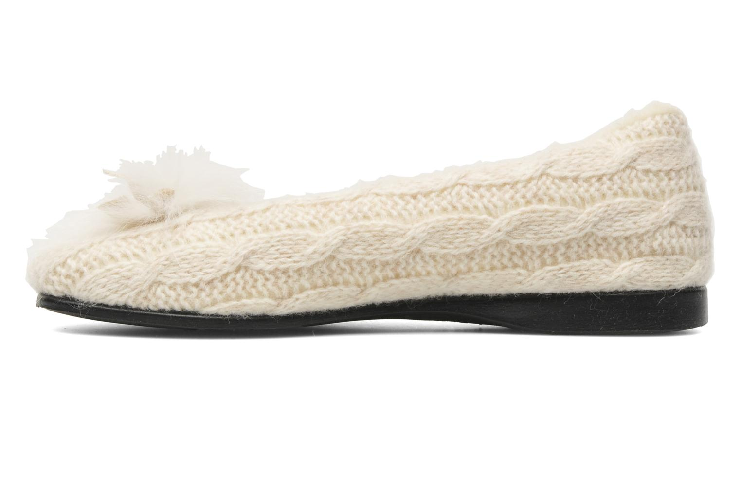 Chaussons Rondinaud Abzac Beige vue face