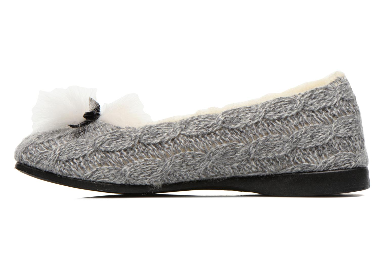 Chaussons Rondinaud Abzac Gris vue face