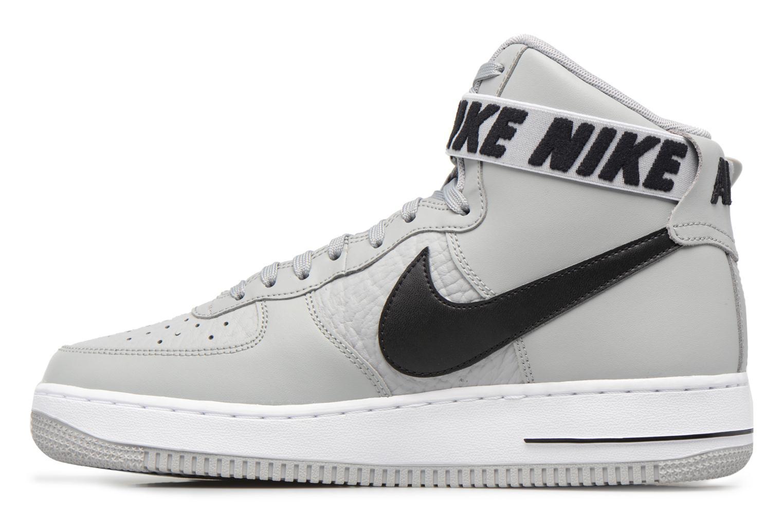 Baskets Nike Air Force 1 High'07 Gris vue face