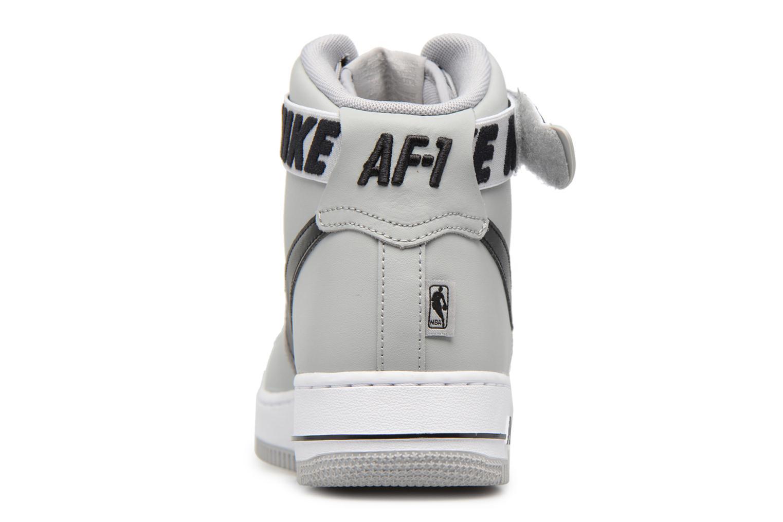 Baskets Nike Air Force 1 High'07 Gris vue droite