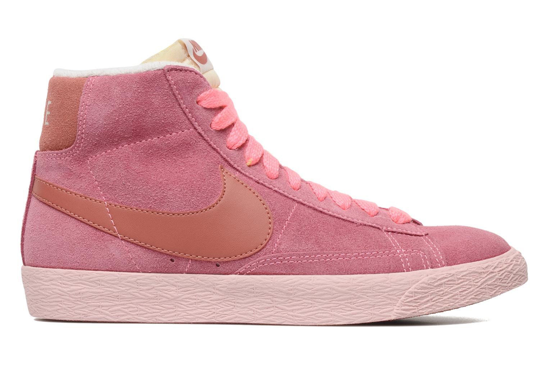 Baskets Nike Wmns Blazer Mid Suede Vintage Rose vue derrière