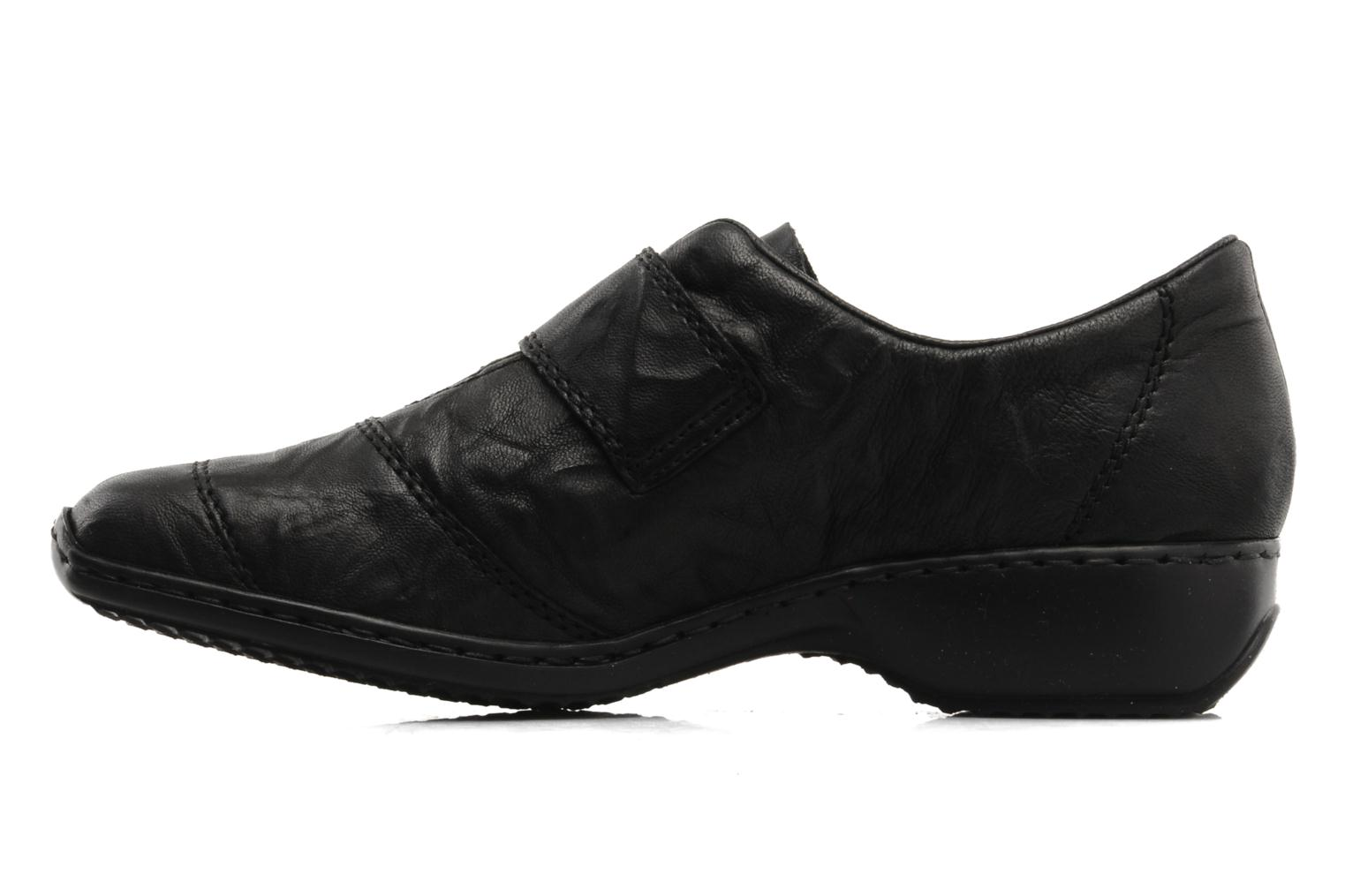 Loafers Rieker Dips L3871 Black front view