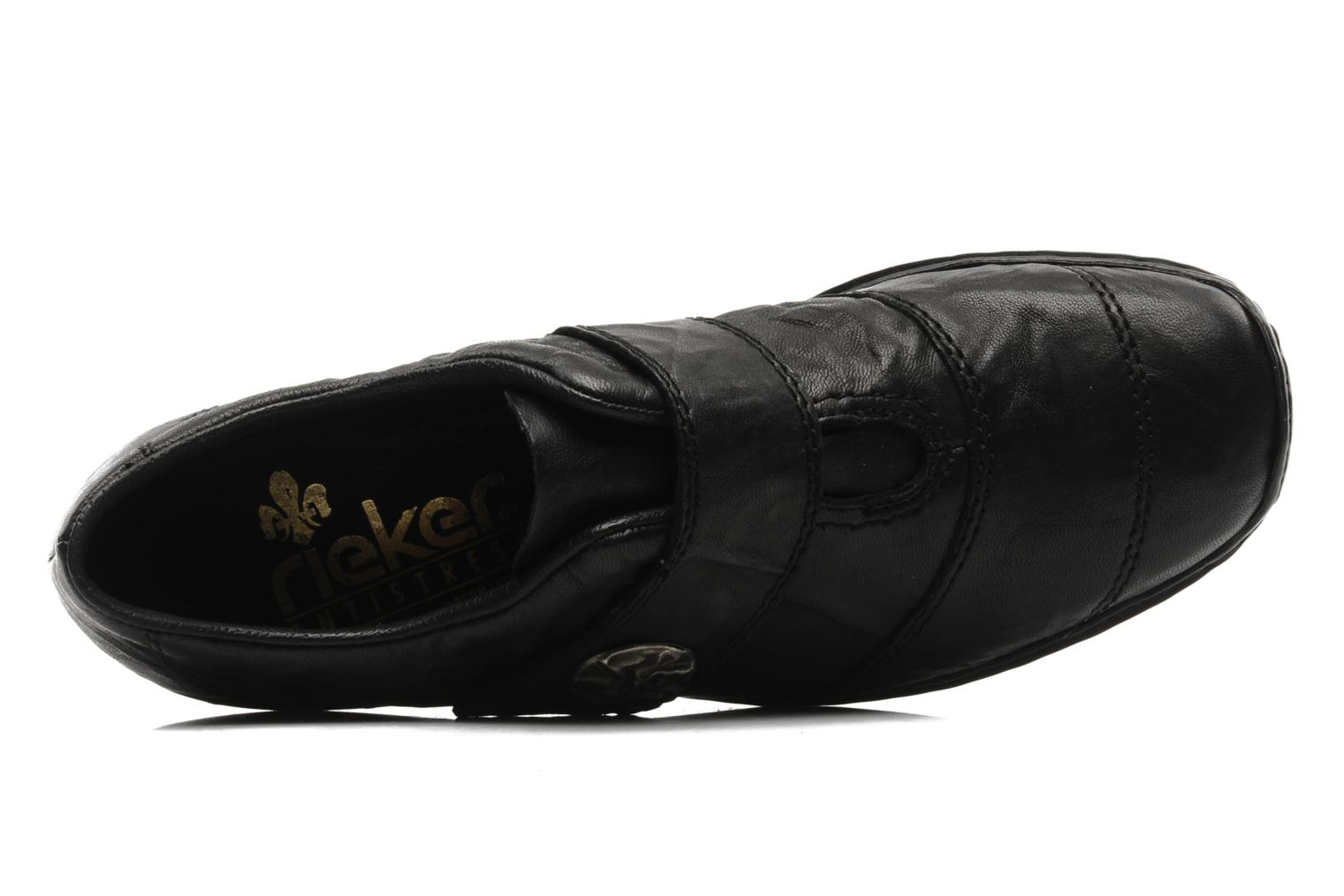 Loafers Rieker Dips L3871 Black view from the left