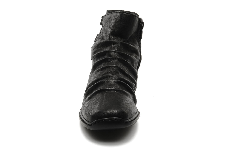 Bottines et boots Rieker Rinho Z3883 Noir vue portées chaussures