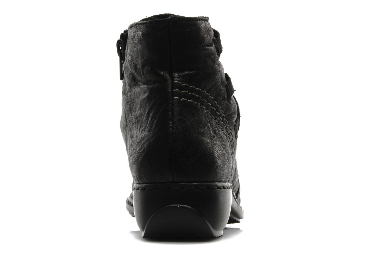 Bottines et boots Rieker Rinho Z3883 Noir vue droite