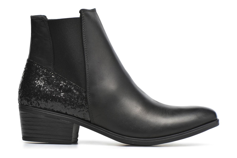 Bottines et boots Pieces Becca Noir vue derrière