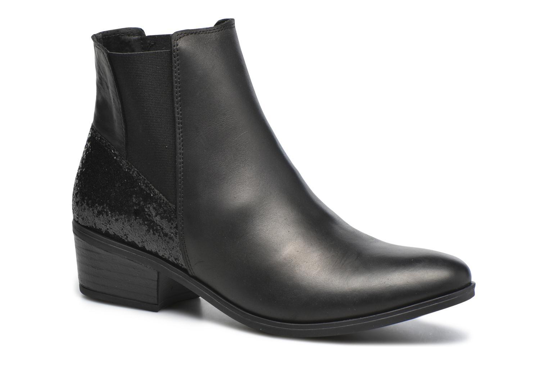 Bottines et boots Pieces Becca Noir vue détail/paire