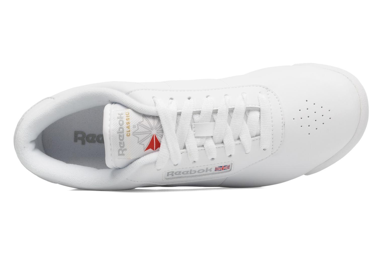 Sneaker Reebok Princess weiß ansicht von links