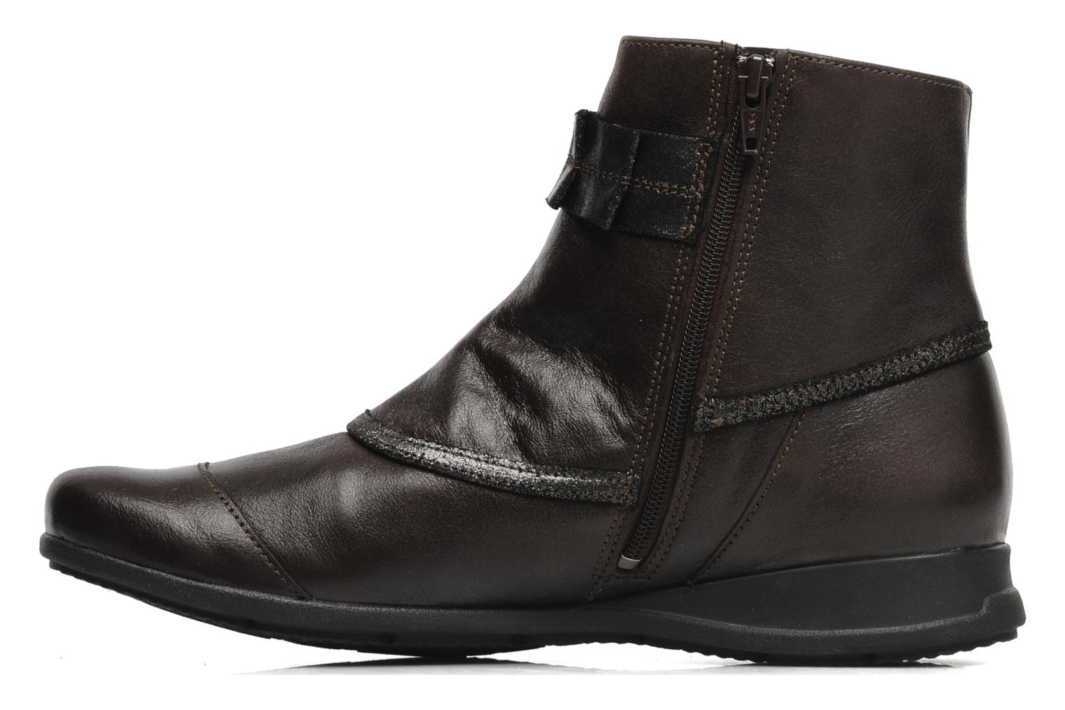 Ankle boots Mephisto Gorsela Brown front view