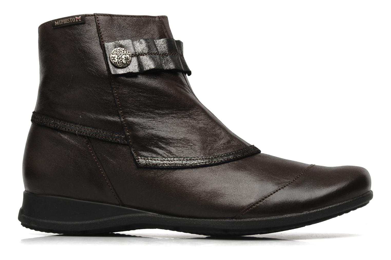 Ankle boots Mephisto Gorsela Brown back view