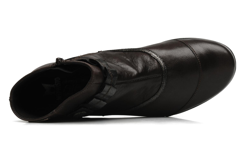 Bottines et boots Mephisto Gorsela Marron vue gauche