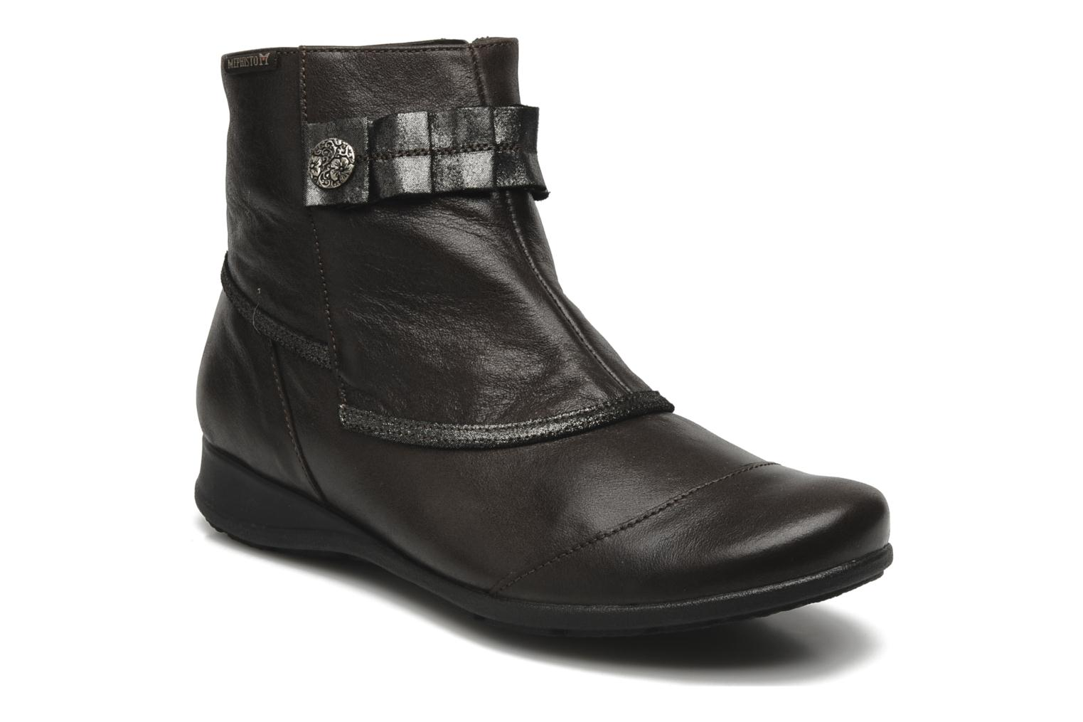 Ankle boots Mephisto Gorsela Brown detailed view/ Pair view