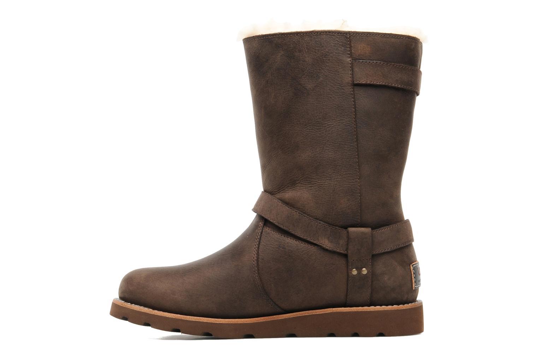 Stiefeletten & Boots UGG Noira braun ansicht von vorne