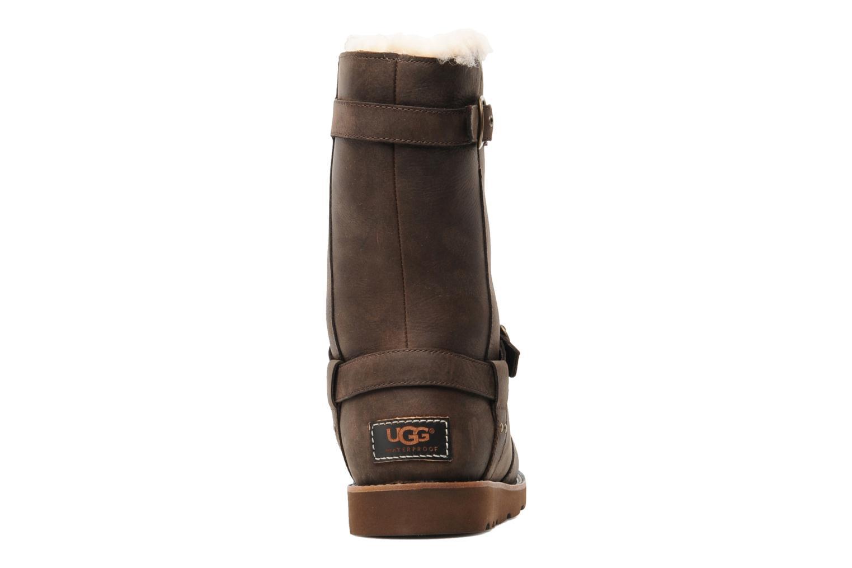 Stiefeletten & Boots UGG Noira braun ansicht von rechts