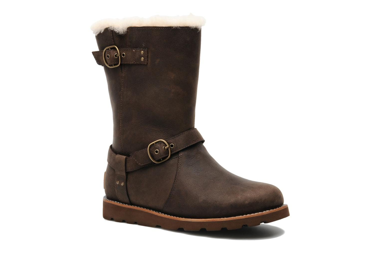 Stiefeletten & Boots UGG Noira braun detaillierte ansicht/modell