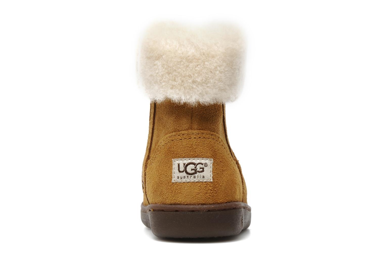 Bottines et boots UGG Jorie II K Marron vue droite