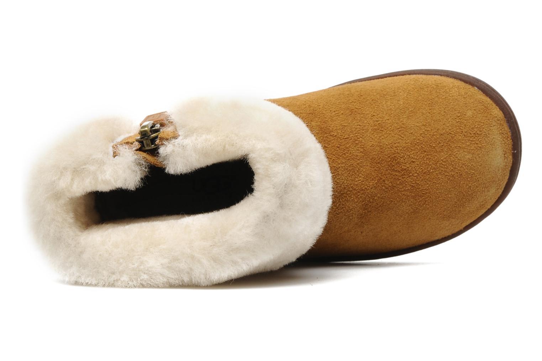 Stiefeletten & Boots UGG Jorie braun ansicht von links