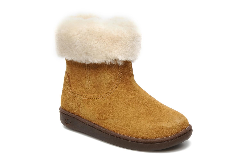 Bottines et boots UGG Jorie II K Marron vue détail/paire