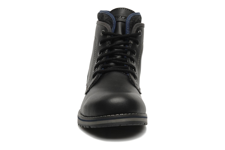 Bottines et boots Skechers Orbay 63540 Noir vue portées chaussures