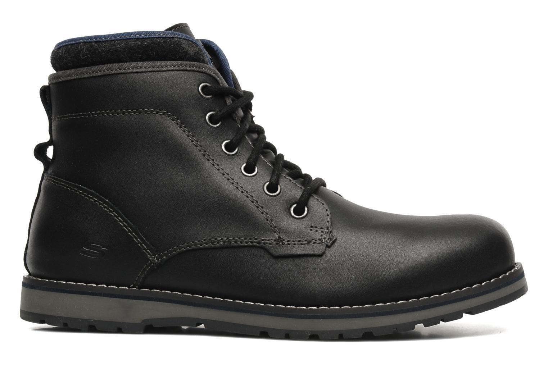 Bottines et boots Skechers Orbay 63540 Noir vue derrière