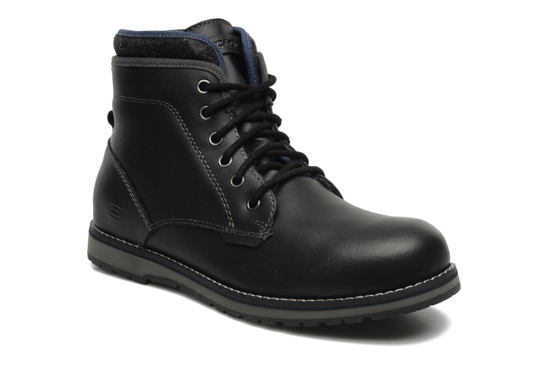 Bottines et boots Skechers Orbay 63540 Noir vue détail/paire