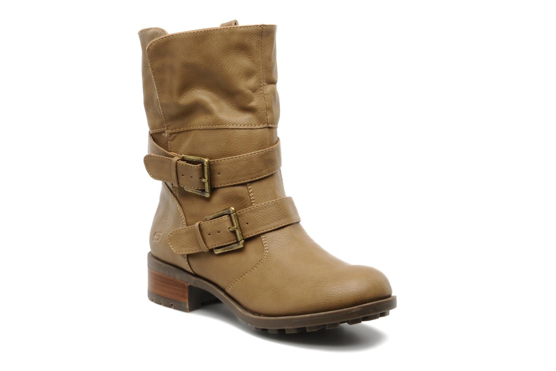 Boots en enkellaarsjes Skechers Ranger 47516 Beige 3/4'