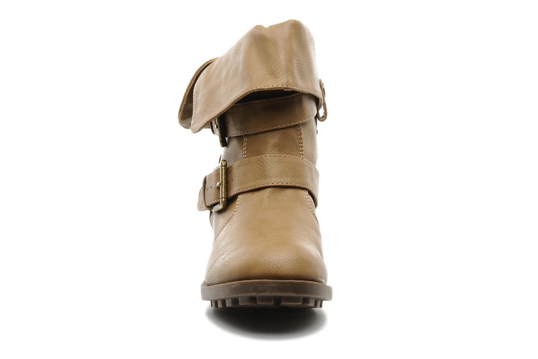 Stiefeletten & Boots Skechers Ranger 47516 beige schuhe getragen