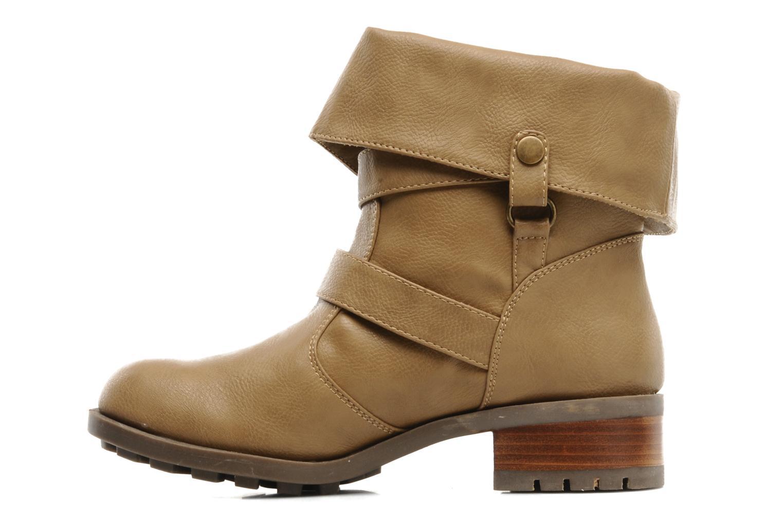 Boots en enkellaarsjes Skechers Ranger 47516 Beige voorkant