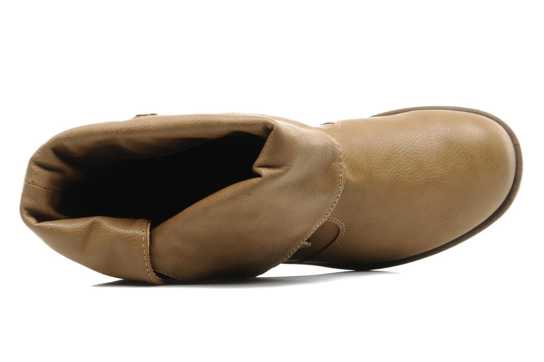 Boots en enkellaarsjes Skechers Ranger 47516 Beige links