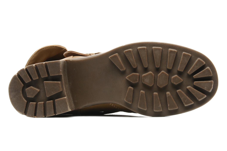 Boots en enkellaarsjes Skechers Ranger 47516 Beige boven