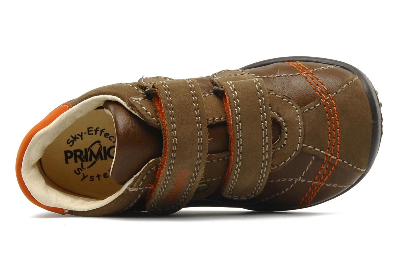 Baskets Primigi Gasp Marron vue gauche