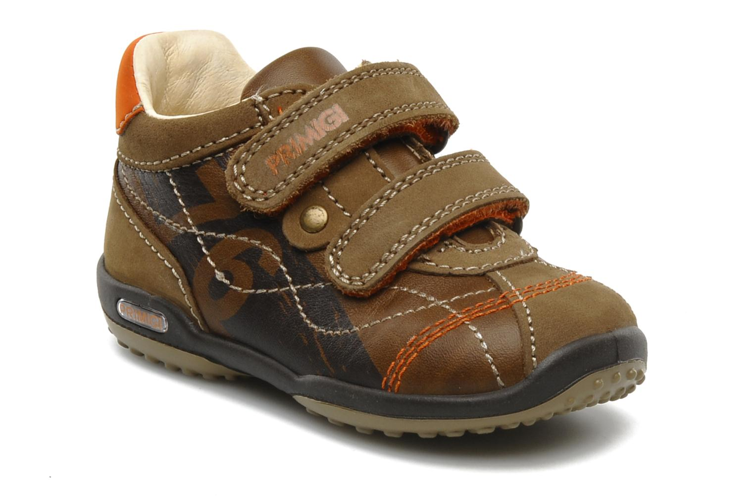 Trainers Primigi Gasp Brown detailed view/ Pair view