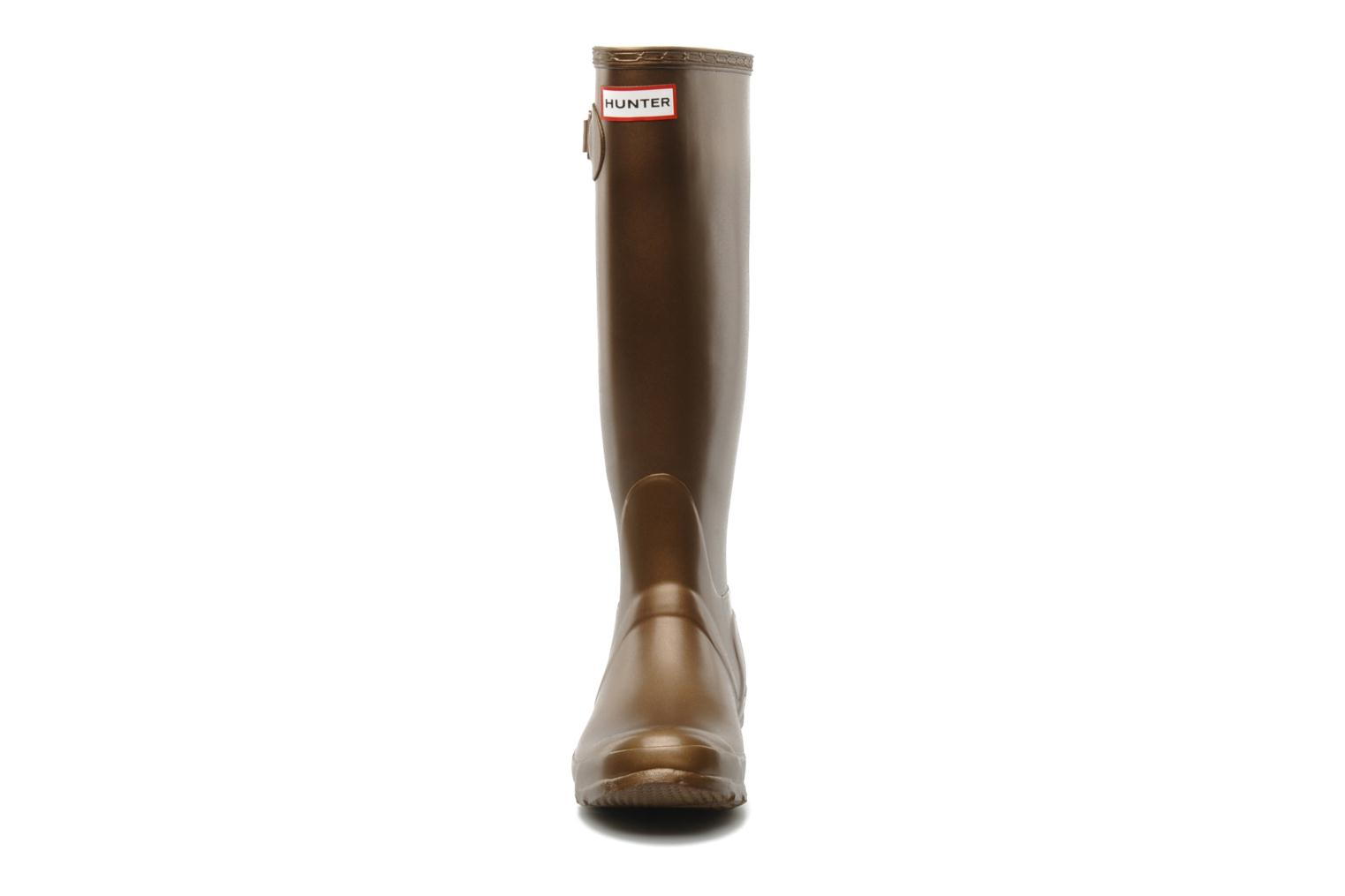 Boots & wellies Hunter Original Great Bronze and Gold model view