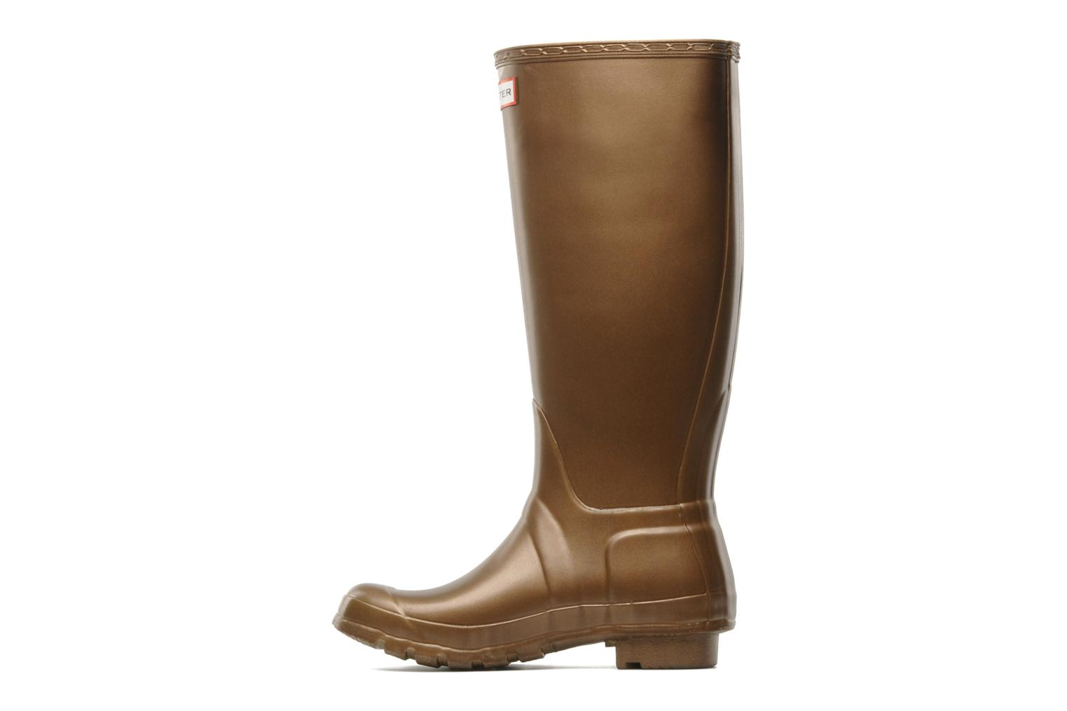 Boots & wellies Hunter Original Great Bronze and Gold front view