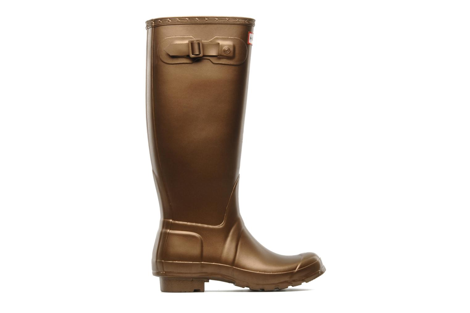 Boots & wellies Hunter Original Great Bronze and Gold back view