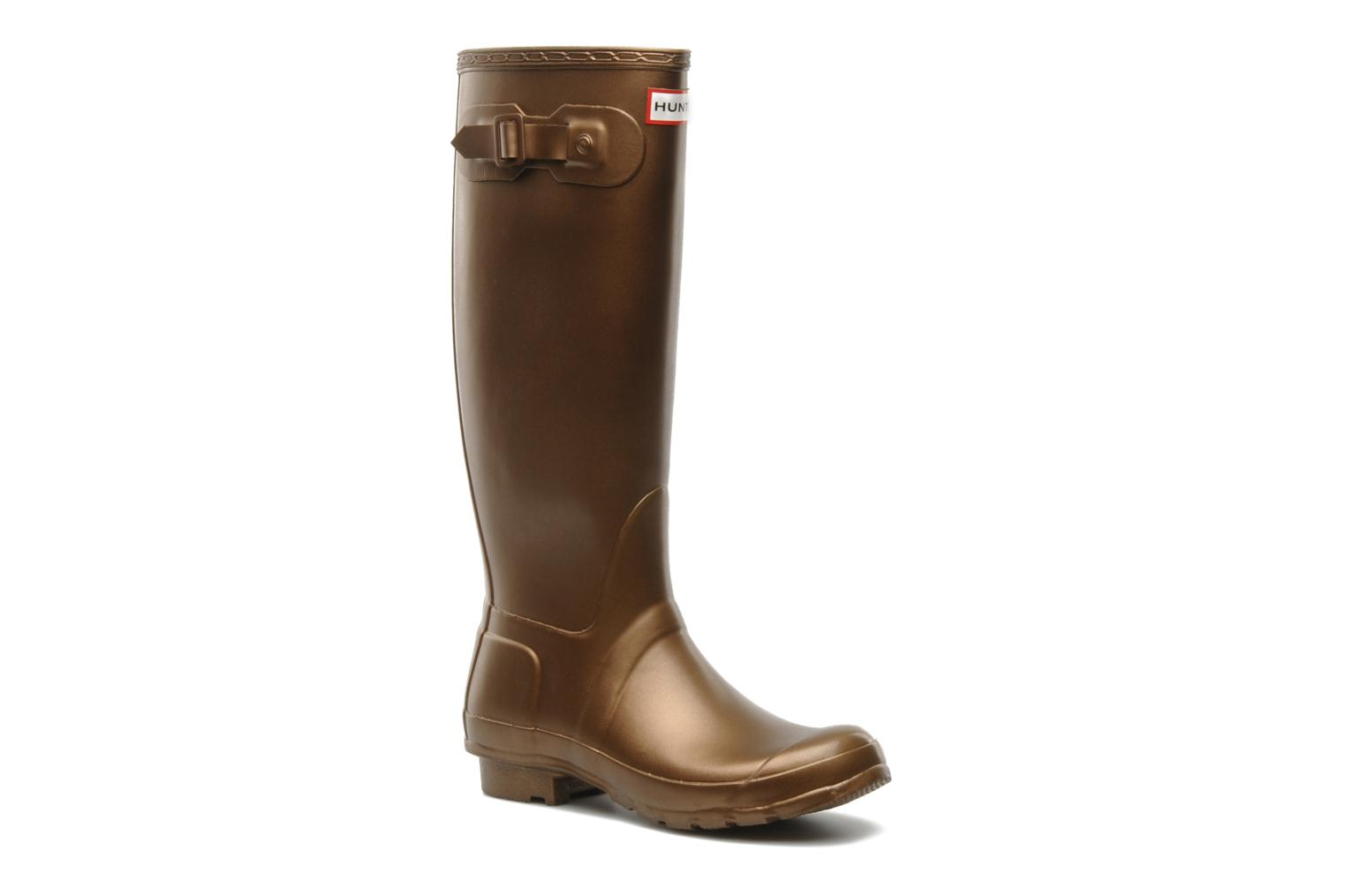 Boots & wellies Hunter Original Great Bronze and Gold detailed view/ Pair view