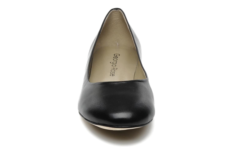 Ballerines Georgia Rose Sabrina CFT Noir vue portées chaussures