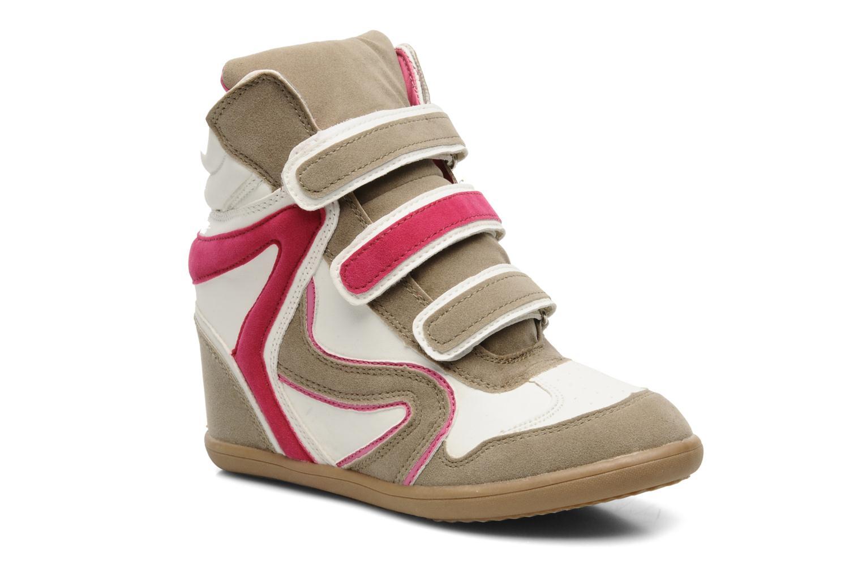 Baskets I Love Shoes Phildo Multicolore vue détail/paire