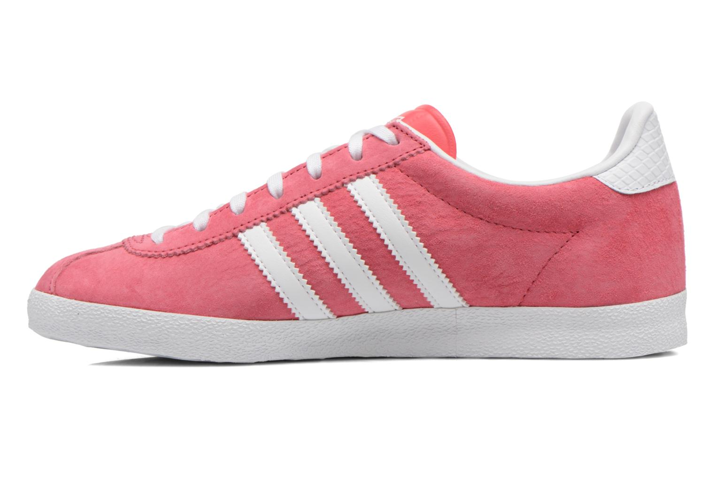 Sneakers Adidas Originals Gazelle og w Roze voorkant