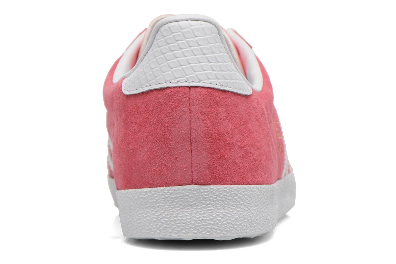 Baskets Adidas Originals Gazelle og w Rose vue droite