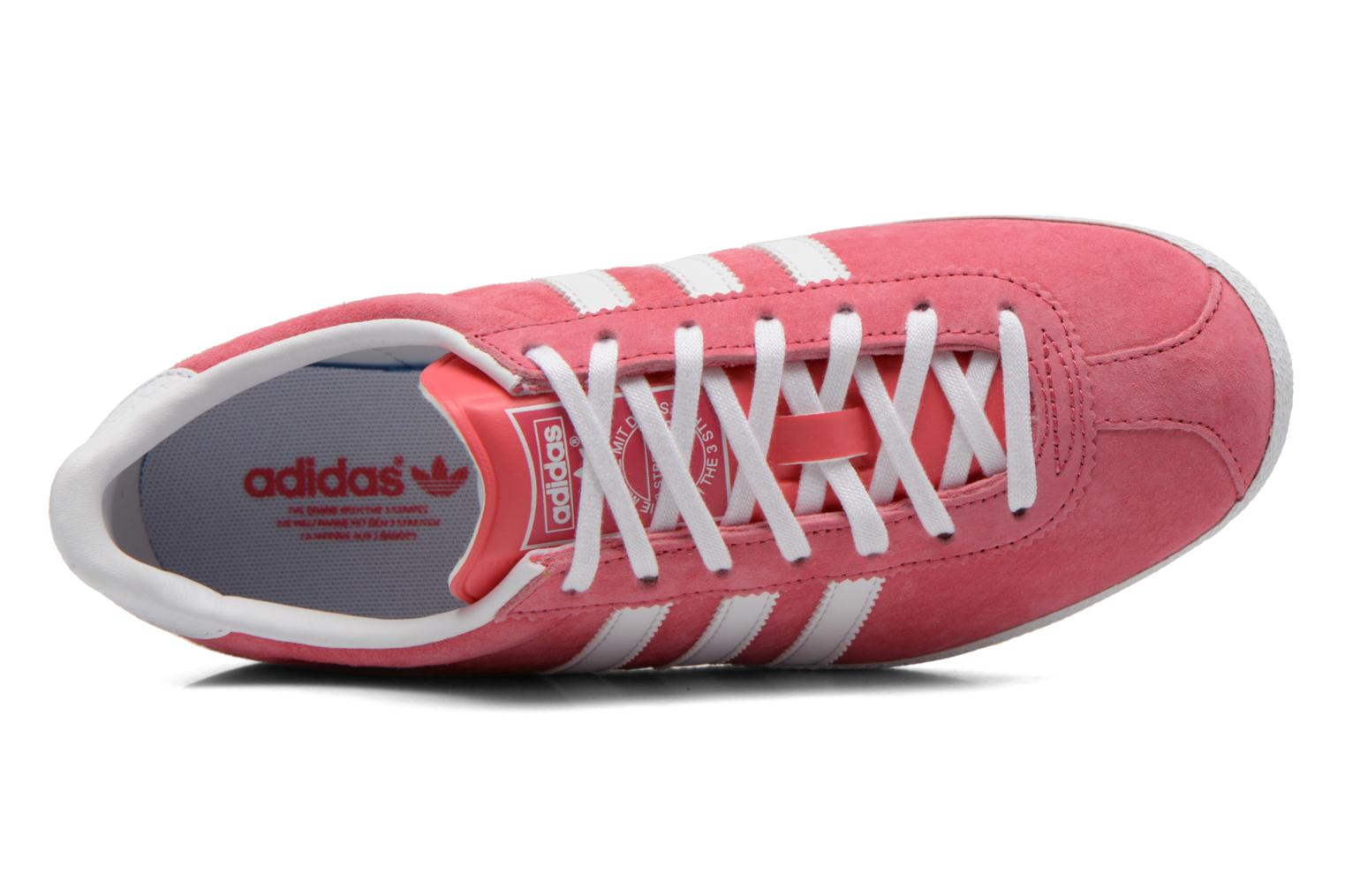 Baskets Adidas Originals Gazelle og w Rose vue gauche
