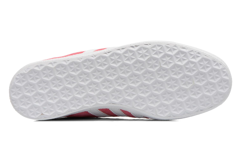 Baskets Adidas Originals Gazelle og w Rose vue haut