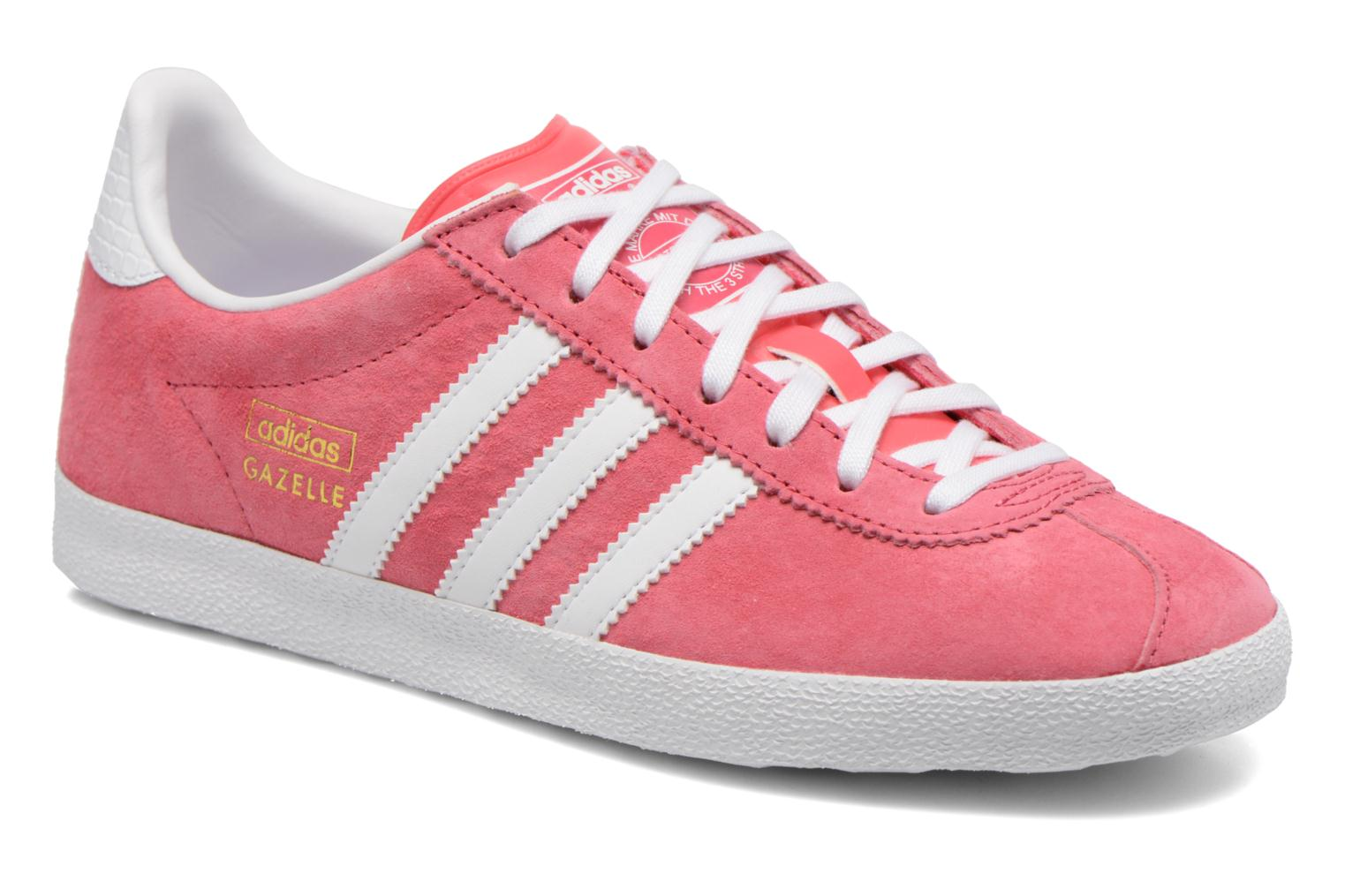 Baskets Adidas Originals Gazelle og w Rose vue détail/paire