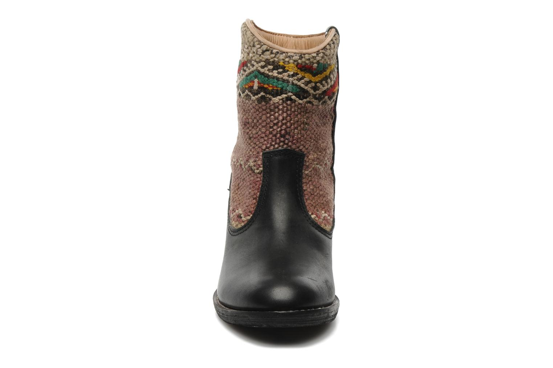 Bottines et boots Kiboots Inez Noir vue portées chaussures